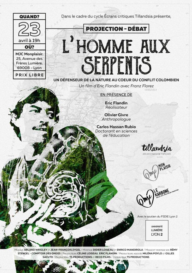L'homme aux serpents - Flyer A5-1